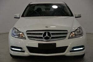 2012 Mercedes-Benz C250 CDI W204 MY12 BlueEFFICIENCY 7G-Tronic + Avantgarde White 7 Speed Mansfield Brisbane South East Preview