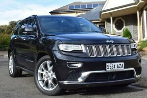 2014 Jeep Grand Cherokee WK MY2014 Summit Black 8 Speed Sports Automatic Wagon St Marys Mitcham Area Preview