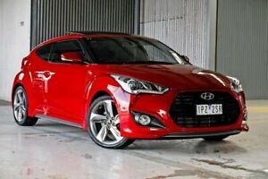 2014 Hyundai Veloster FS4 Series II SR Coupe Turbo Red 6 Speed Manual Hatchback Wendouree Ballarat City Preview