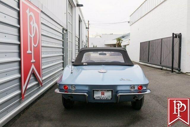 1963 Blue Chevrolet Corvette Convertible  | C2 Corvette Photo 4