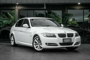 2011 BMW 3 Series E90 MY1011 320i Steptronic Lifestyle White 6 Speed Sports Automatic Sedan Bowen Hills Brisbane North East Preview