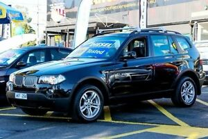 2008 BMW X3 E83 MY09 xDrive30d Steptronic Lifestyle Black 6 Speed Automatic Wagon Ringwood East Maroondah Area Preview