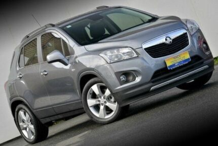 2013 Holden Trax TJ MY14 LTZ Satin Steel Grey 6 Speed Automatic Wagon Ferntree Gully Knox Area Preview