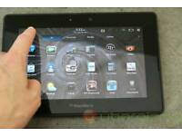 Blackberry tablet 16gb / clean like new / cash or swaps are welcome