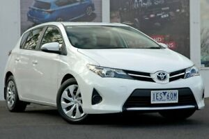 2015 Toyota Corolla ZRE182R Ascent S-CVT White 7 Speed Constant Variable Hatchback Ferntree Gully Knox Area Preview