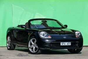 2002 Toyota Mr2 ZZW30R S2 Spyder Black 6 Speed Seq Manual Auto-Clutch Convertible Ringwood East Maroondah Area Preview