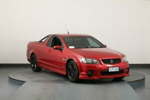 2010 Holden Commodore VE II SV6 Red 6 Speed Manual Utility