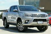 2016 Toyota Hilux Silver Sports Automatic Utility Nunawading Whitehorse Area Preview