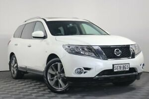 2015 Nissan Pathfinder R52 MY15 Ti X-tronic 4WD White 1 Speed Constant Variable Wagon Wayville Unley Area Preview