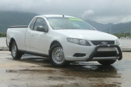 2010 Ford Falcon FG Ute Super Cab White 5 Speed Automatic Utility Portsmith Cairns City Preview