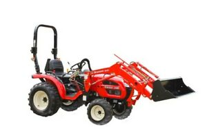 Small used tractor