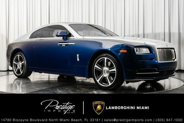 2016 Rolls-Royce Wraith  Coupe 6.6L 12 Cylinder Engine Automatic