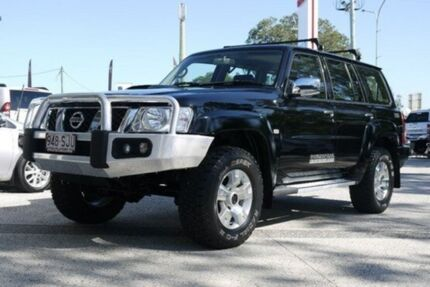 2012 Nissan Patrol GU 7 MY10 ST Black 4 Speed Automatic Wagon Currimundi Caloundra Area Preview