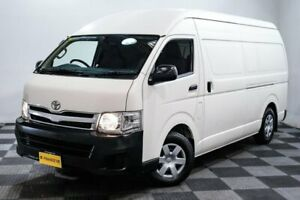 2012 Toyota HiAce KDH221R MY12 Super LWB White 4 Speed Automatic Van Edgewater Joondalup Area Preview