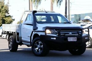 2016 Holden Colorado RG MY17 LS White 6 Speed Manual Cab Chassis Upper Mount Gravatt Brisbane South East Preview