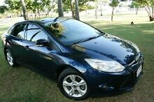 2011 Ford Focus LW Trend PwrShift Blue 6 Speed Sports Automatic Dual Clutch Sedan Townsville Townsville City Preview