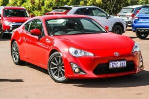2014 Toyota 86 ZN6 GT Red 6 Speed Sports Automatic Coupe