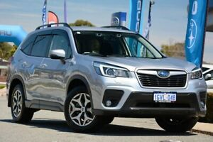 2019 Subaru Forester S5 MY19 2.5i CVT AWD Ice Silver 7 Speed Constant Variable Wagon