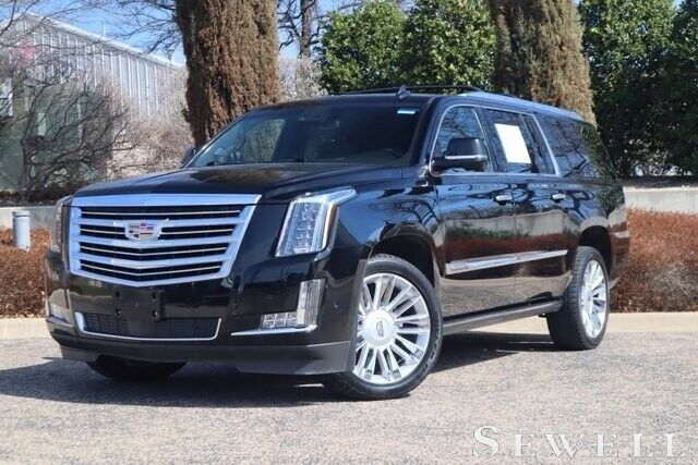 2017 Cadillac Escalade ESV, Black Raven with 55372 Miles available now!