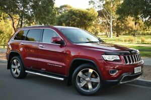 2013 Jeep Grand Cherokee WK MY2014 Limited Maroon 8 Speed Sports Automatic Wagon St Marys Mitcham Area Preview