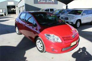 2011 Toyota Corolla ZRE152R MY11 Ascent Red 4 Speed Automatic Hatchback Mitchell Gungahlin Area Preview