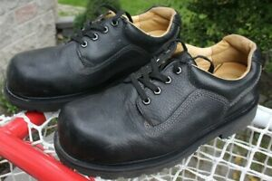 Leather steel toe Safety US 11 or UK 10 wide 3E Dakota shoes men