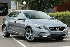 2015 Volvo V40 M MY16 T4 Luxury Osmium Grey 6 Speed Automatic Hatchback Dee Why Manly Area Preview