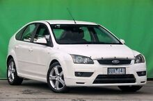 2007 Ford Focus LS Zetec White 4 Speed Sports Automatic Hatchback Ringwood East Maroondah Area Preview