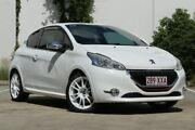2013 Peugeot 208 A9 MY13 GTi White 6 Speed Manual Hatchback Virginia Brisbane North East Preview