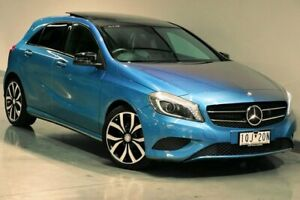 2013 Mercedes-Benz A-Class W176 A180 Blue Sports Automatic Dual Clutch South Morang Whittlesea Area Preview