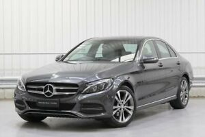2014 Mercedes-Benz C-Class W205 C200 Grey Sports Automatic Parramatta Parramatta Area Preview
