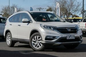 2016 Honda CR-V RM Series II MY17 VTi-S White 5 Speed Sports Automatic Wagon Hoppers Crossing Wyndham Area Preview