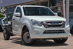 2019 Isuzu D-MAX MY19 SX 4x2 White 6 Speed Manual Cab Chassis Christies Beach Morphett Vale Area Preview