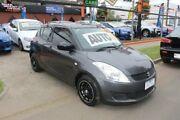2012 Suzuki Swift FZ GLX Grey 4 Speed Automatic Hatchback West Footscray Maribyrnong Area Preview