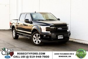 2018 Ford F-150 Lariat FX4 Sport / 4x4 / Accident Free / Backup