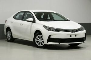 2017 Toyota Corolla ZRE172R Ascent White 7 Speed CVT Auto Sequential Sedan Bentley Canning Area Preview