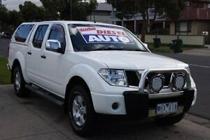 2008 Nissan Navara D40 ST-X White 5 Speed Automatic Utility Altona North Hobsons Bay Area Preview
