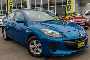 2011 Mazda 3 BL10F1 MY10 Neo Activematic Blue 5 Speed Sports Automatic Sedan Kings Park Blacktown Area Preview