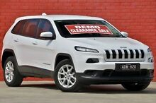 2015 Jeep Cherokee KL MY15 Sport White 9 Speed Auto Seq Sportshift Wagon Pakenham Cardinia Area Preview