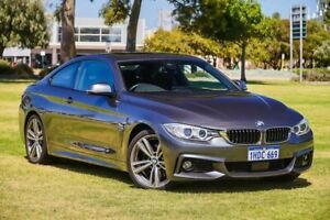 2016 BMW 4 Series F32 430i Sport Line Grey 8 Speed Sports Automatic Coupe Burswood Victoria Park Area Preview