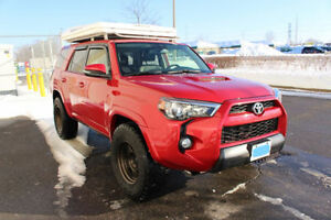 2015 Toyota 4Runner trail edition loaded low mileage!Cheapest!