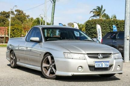 2007 Holden Ute VZ MY06 SVZ Silver 6 Speed Manual Utility Maddington Gosnells Area Preview