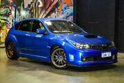 2008 Subaru Impreza G3 MY09 WRX AWD STi Blue 6 Speed Manual Hatchback Perth Perth City Area Preview