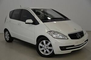 2008 Mercedes-Benz A180 CDI W169 MY09 Classic White 6 Speed Manual Hatchback Mansfield Brisbane South East Preview
