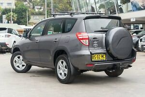 2012 Toyota RAV4 GSA33R MY12 CV6 Graphite 5 Speed Automatic Wagon Brookvale Manly Area Preview