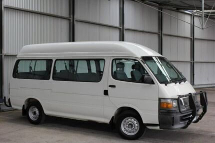 2002 Toyota Hiace RZH125R Commuter Super LWB White 4 Speed Automatic Bus Invermay Launceston Area Preview