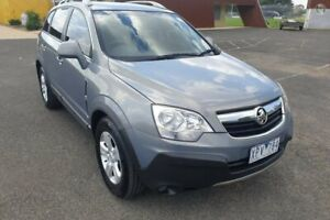 2010 Holden Captiva CG MY10 5 (4x4) Grey 5 Speed Automatic Wagon Yarram Wellington Area Preview