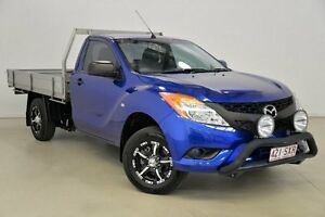 2013 Mazda BT-50 UP0YD1 XT 4x2 Blue 6 Speed Manual Cab Chassis Mansfield Brisbane South East Preview