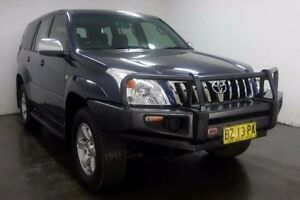 2004 Toyota Landcruiser Prado KZJ120R GXL Blue Manual Wagon Cabramatta Fairfield Area Preview