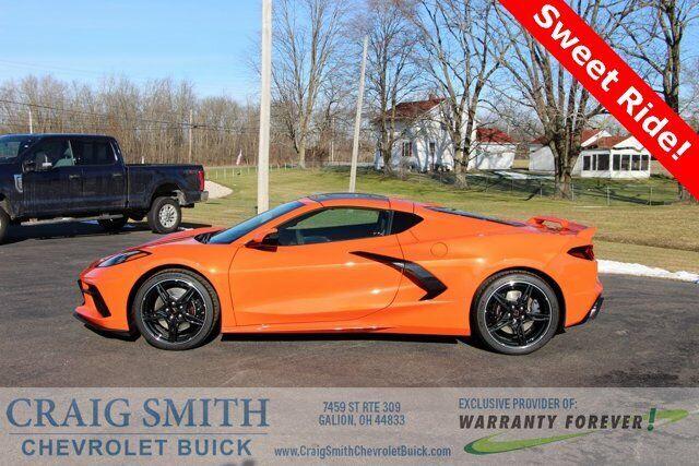 2020 Orange Chevrolet Corvette   | C7 Corvette Photo 1